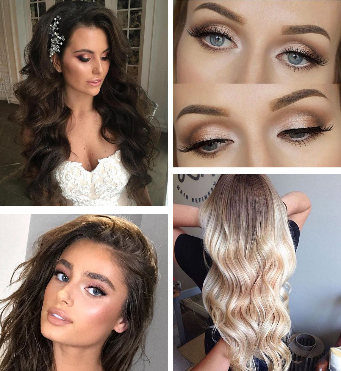 makeup a vlasy